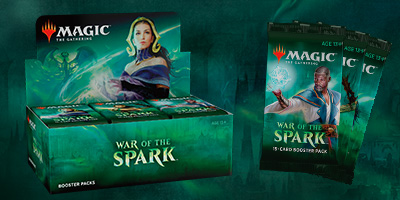 MTG: War of the Spark Booster -  Wizards of the Coast