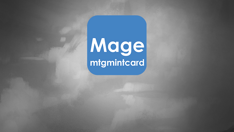 Mage X MTGMintCard