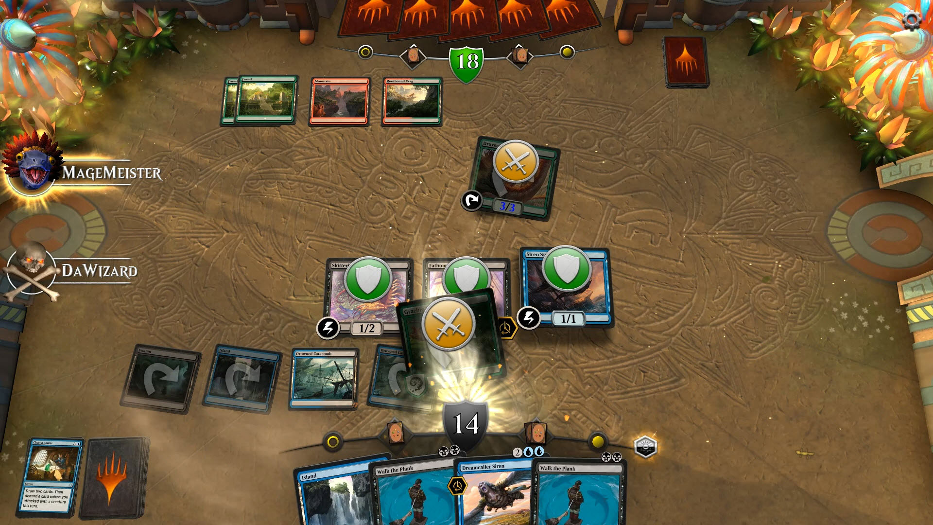 Magic Gathering Arena