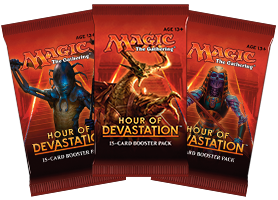 MTG: Hour of Devastation Booster -  Wizards of the Coast