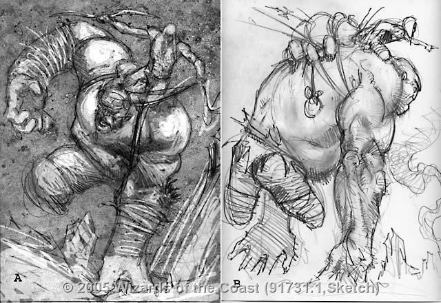Scab-Clan Mauler sketch