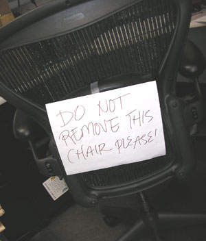 Magic R&D members: Watch your chairs