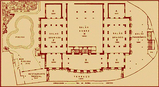 Map of Convention Center