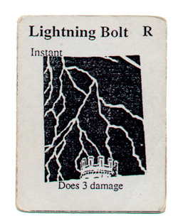 Alpha Playtest Lightning Bolt
