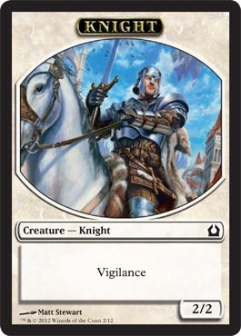 Return to Ravnica Knight Token