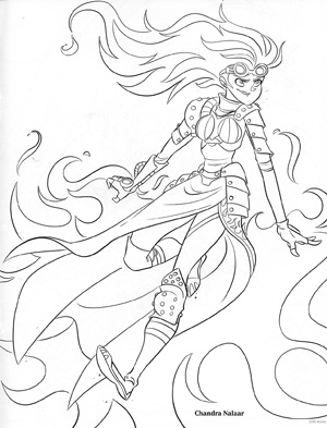 Magical Wizard World Mindfulness Colouring Pages   393x300