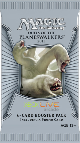 M2014 Duels of the Planeswalkers Booster PS3 englisch
