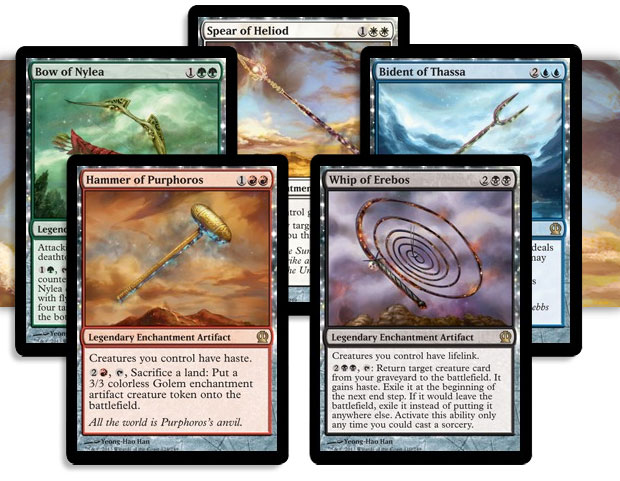 Theroses Are Red And White Blue Black And Green Part 2 Magic The Gathering