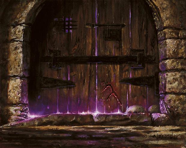 Wizards door