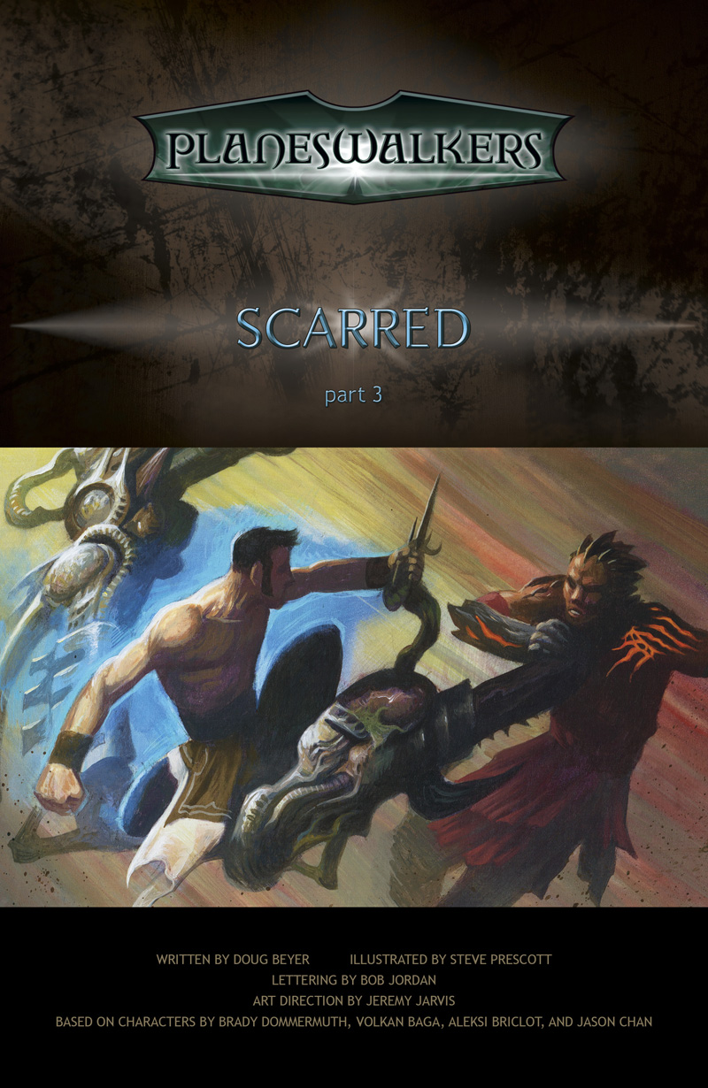 Scarred, Part 3: Title Page