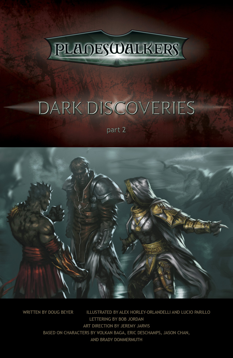 Dark Discoveries, Part 2: Title Page