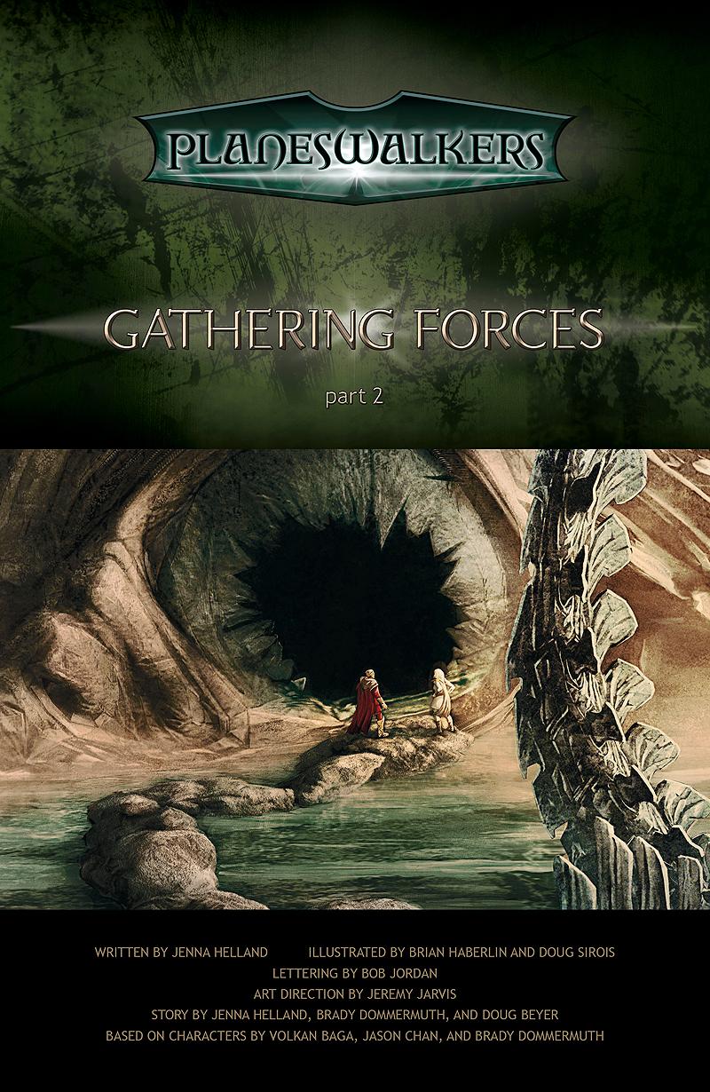 Gathering Forces, Part 2: Title Page
