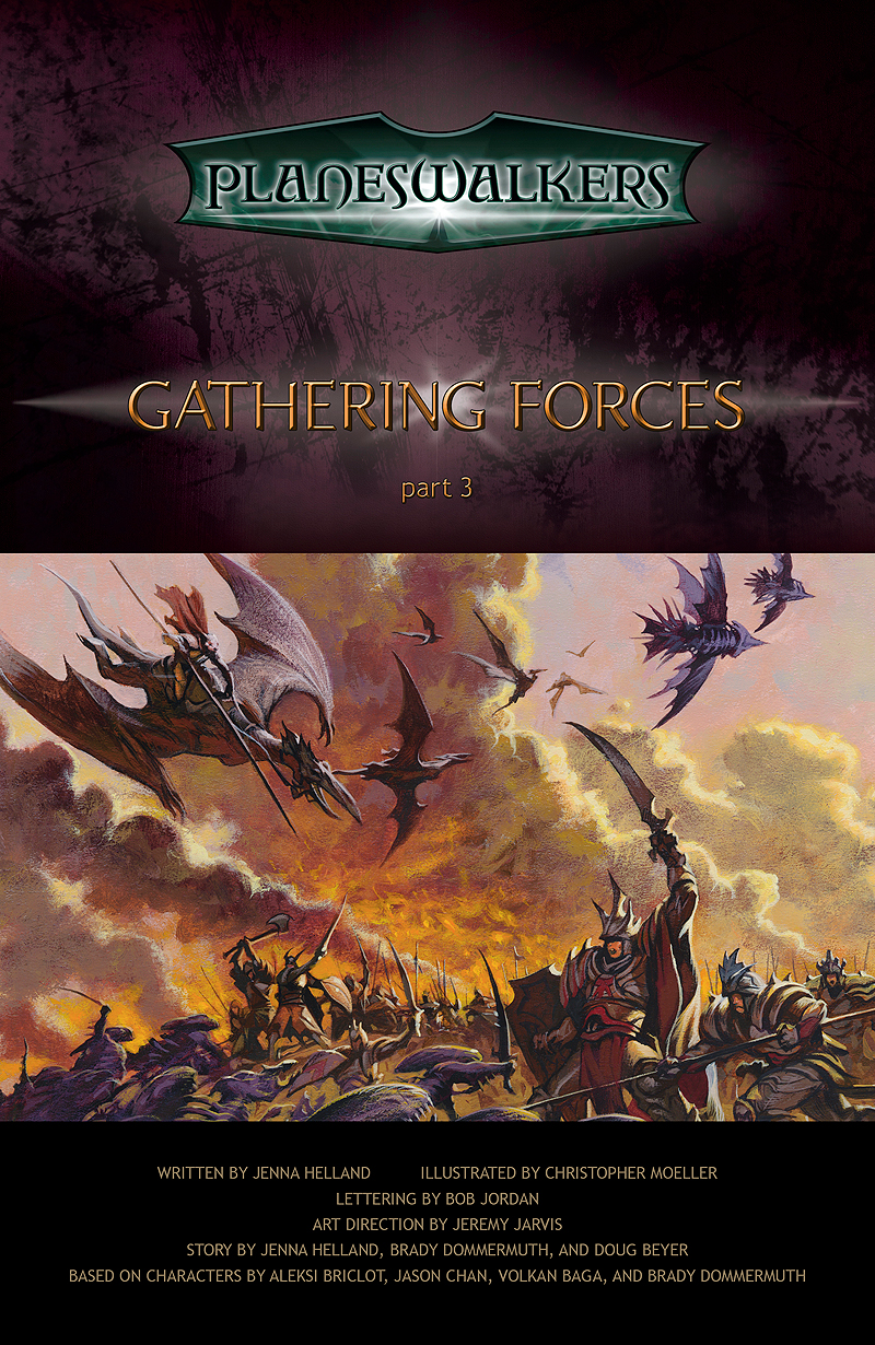 Gathering Forces, Part 3: Title Page