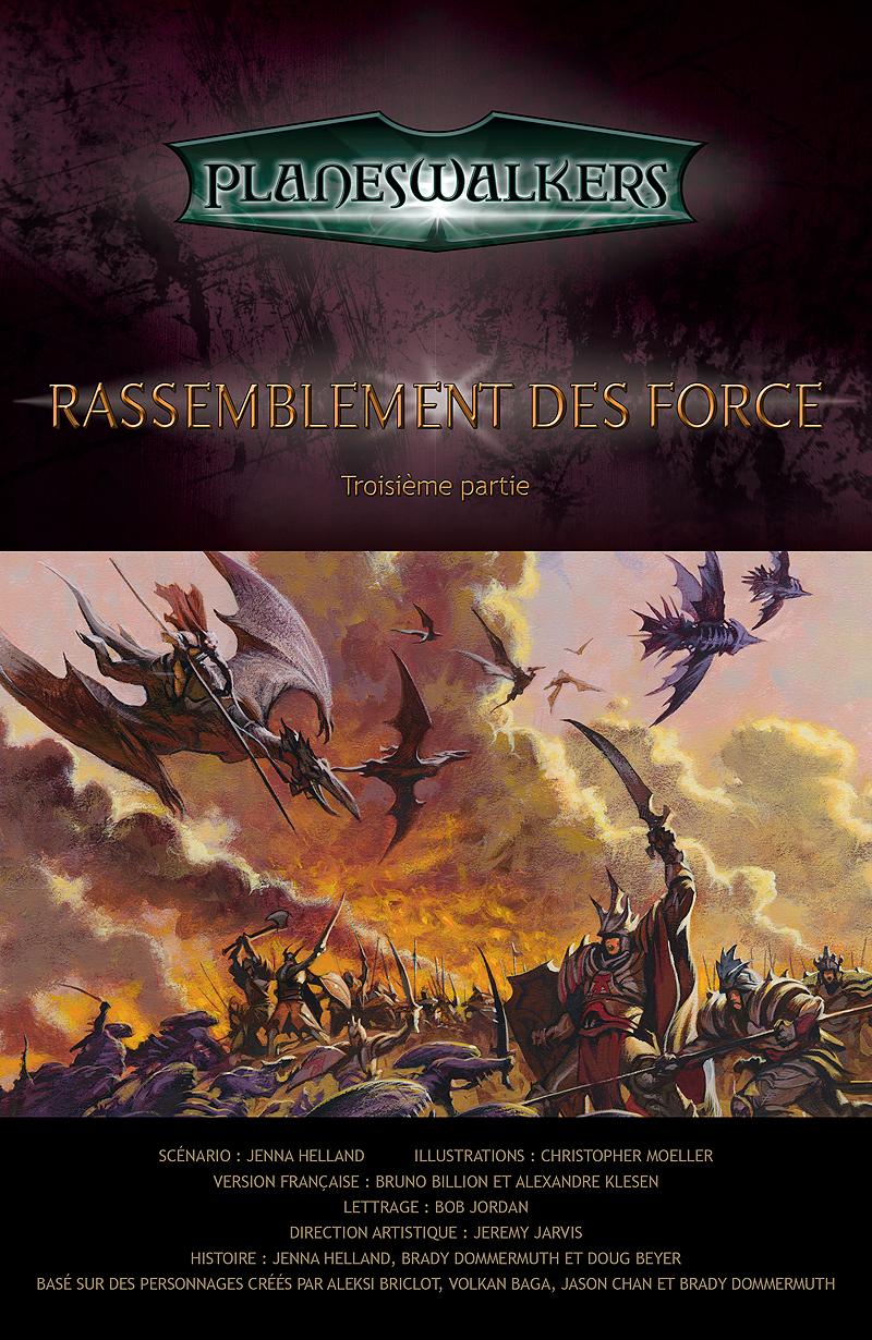 Gathering Forces, Part 3: Title Page
