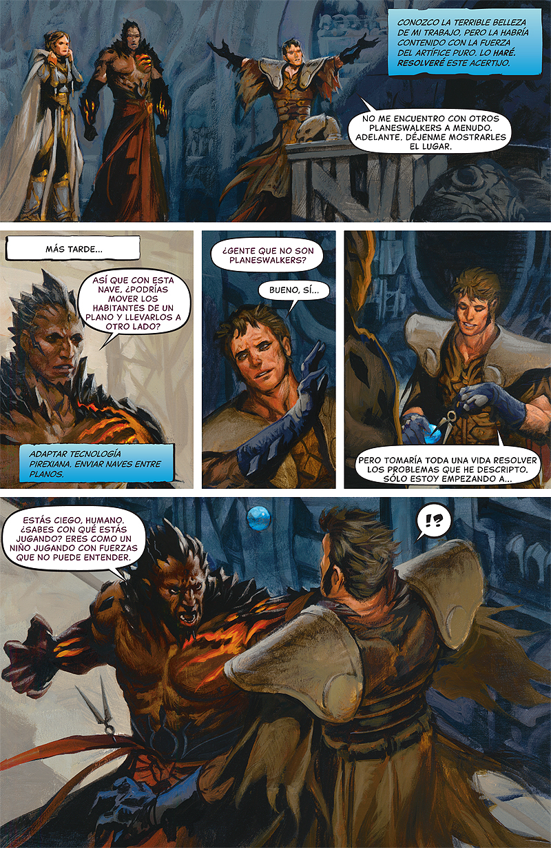 Gathering Forces, Part 3: Page 4