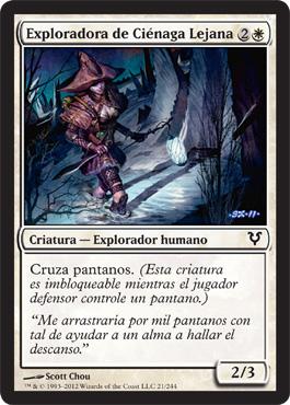 Exploradora de Ciénaga Lejana