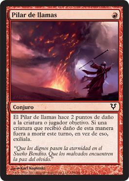 Pilar de llamas
