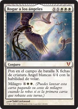 Rogar a los ángeles