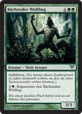 Rächender Wölfling