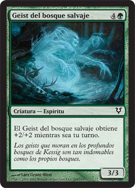 Geist del bosque salvaje