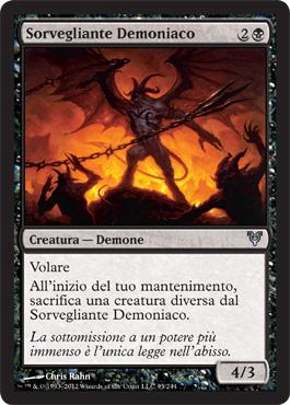 Sorvegliante Demoniaco
