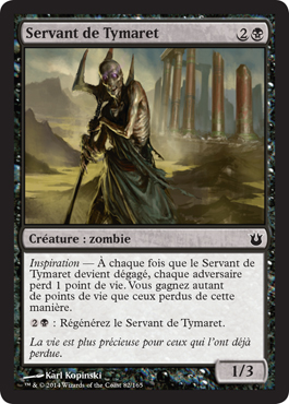 Servant de Tymaret