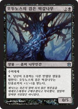 오두노스의 검은 떡갈나무