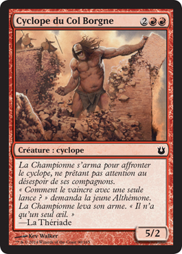 Cyclope du Col Borgne