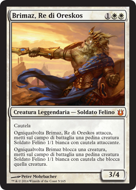 Brimaz, Re di Oreskos