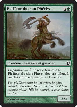 Piaffeur du clan Phérès