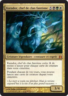 Carte marquante Magic: The Gathering Commander