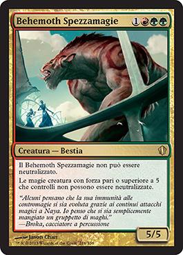 Behemoth Spezzamagie