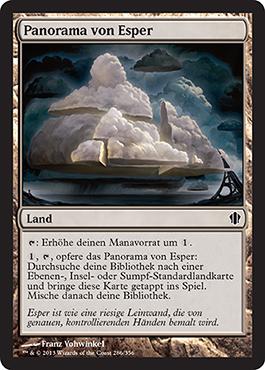Panorama von Esper