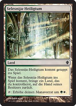 Selesnija-Heiligtum