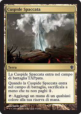 Cuspide Spaccata