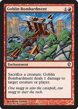 Goblin Bombardment