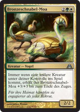 Bronzeschnabel-Moa