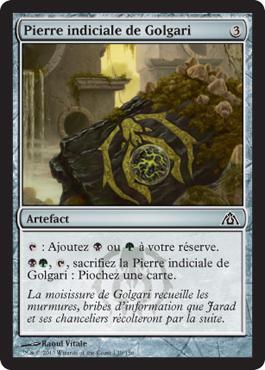 Pierre indiciale de Golgari