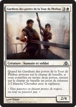 Gardiens des portes de la Tour de Phébus