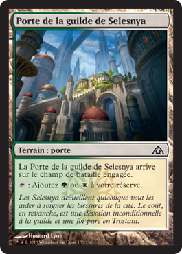 Porte de la guilde de Selesnya