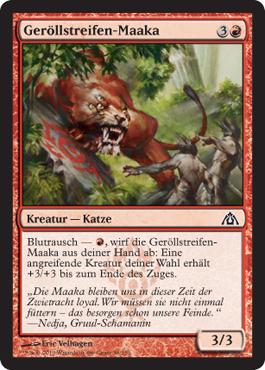 Geröllstreifen-Maaka