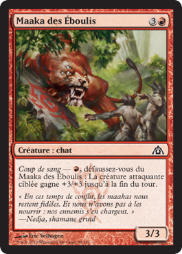 Maaka des Éboulis