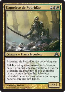 Esqueleto de Podridão