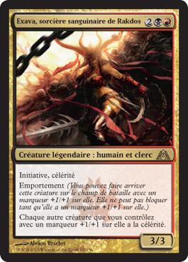 Exava, sorcière sanguinaire de Rakdos
