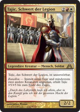 Tajic, Schwert der Legion