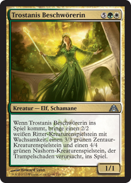 Trostanis Beschwörerin