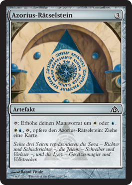 Azorius-Rätselstein