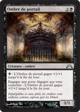 Ombre de portail