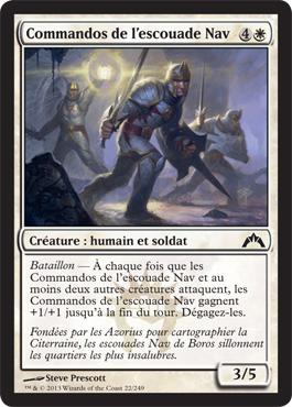 Commandos de l'escouade Nav
