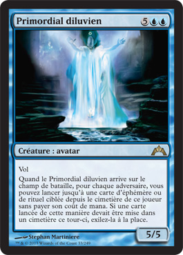 Primordial diluvien